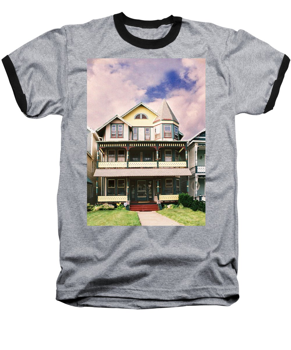 Landscape Baseball T-Shirt featuring the photograph Sisters Panel Three Of Triptych by Steve Karol