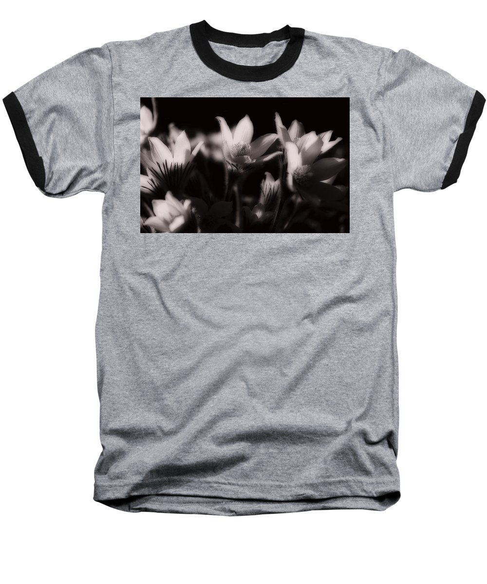 Flowers Baseball T-Shirt featuring the photograph Sleepy Flowers by Marilyn Hunt