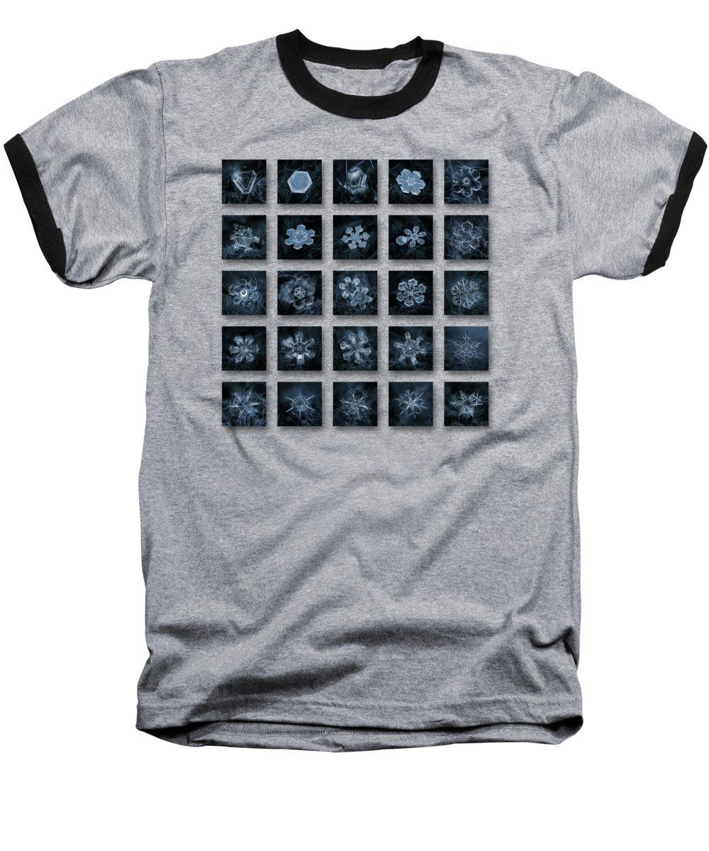 Pattern Photographs Baseball T-Shirts