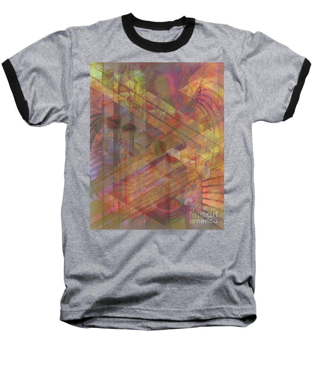Soft Fantasia Baseball T-Shirt featuring the digital art Soft Fantasia by John Beck