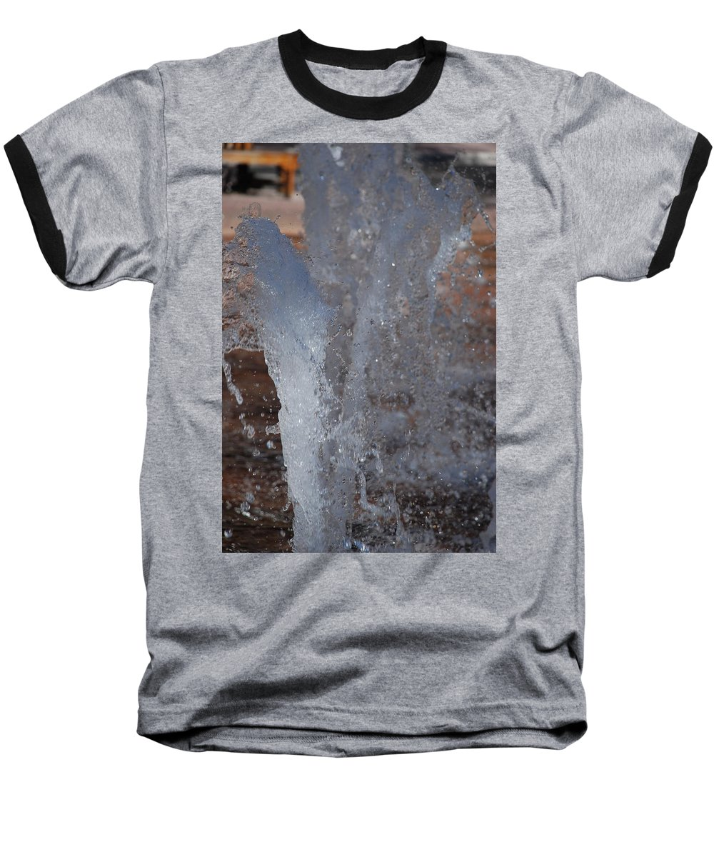 Water Baseball T-Shirt featuring the photograph Splash by Rob Hans