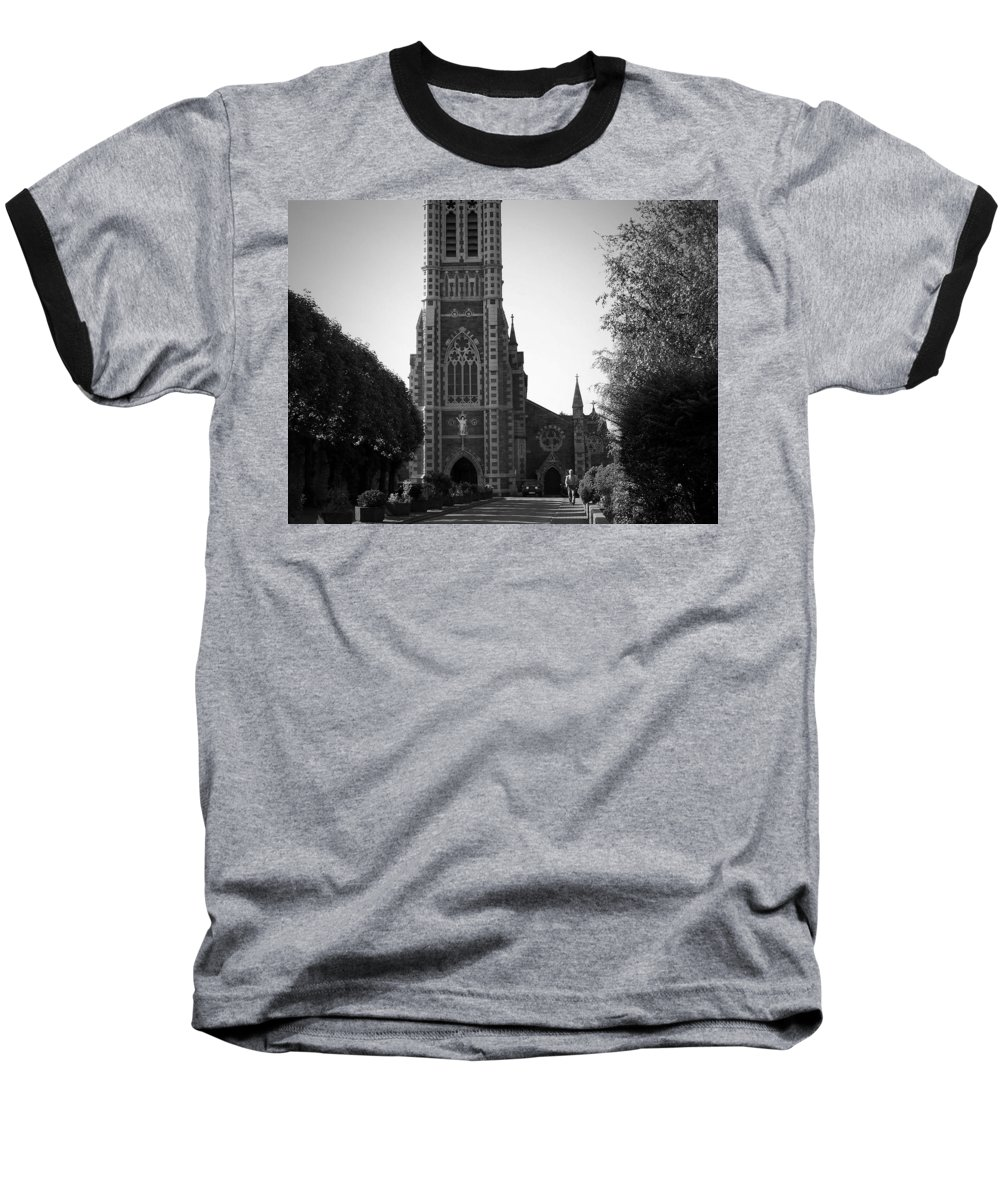 Irish Baseball T-Shirt featuring the photograph St. John's Church Tralee Ireland by Teresa Mucha