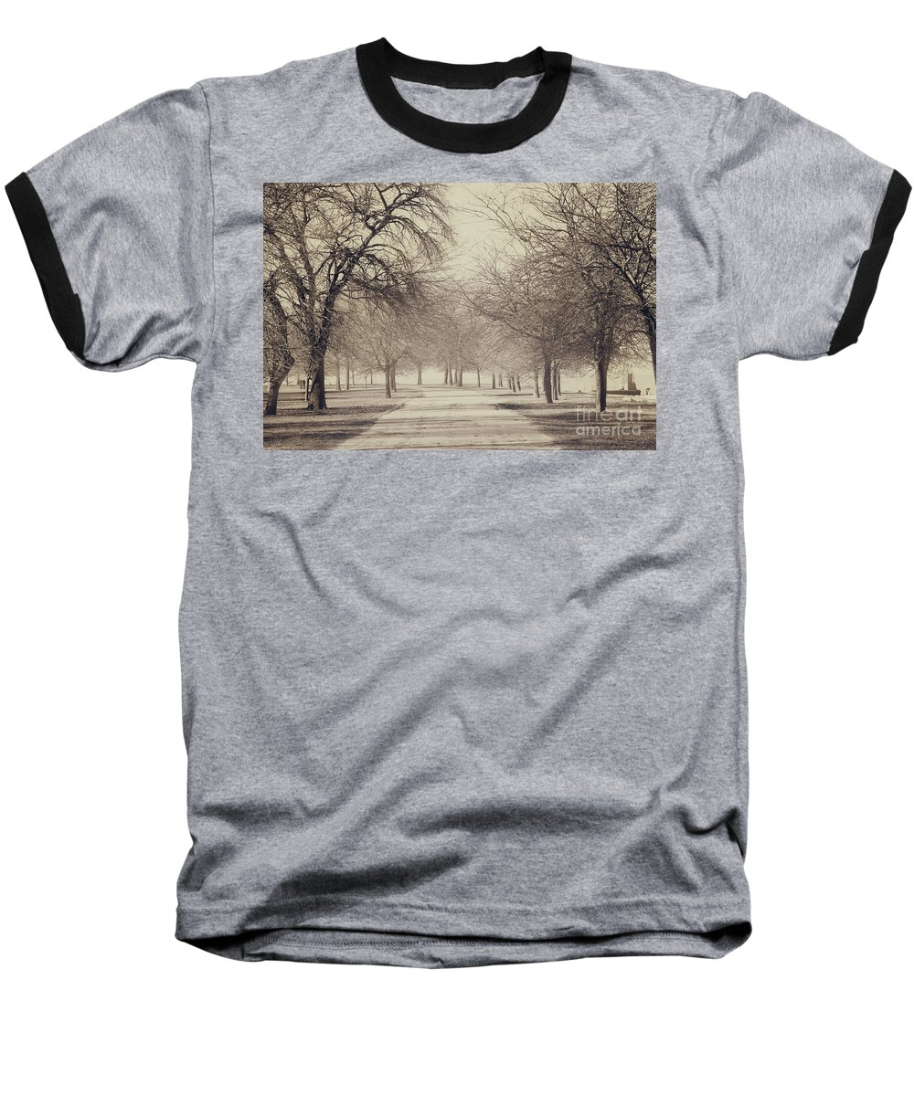 Trees Baseball T-Shirt featuring the photograph Stand Where I Stood by Dana DiPasquale