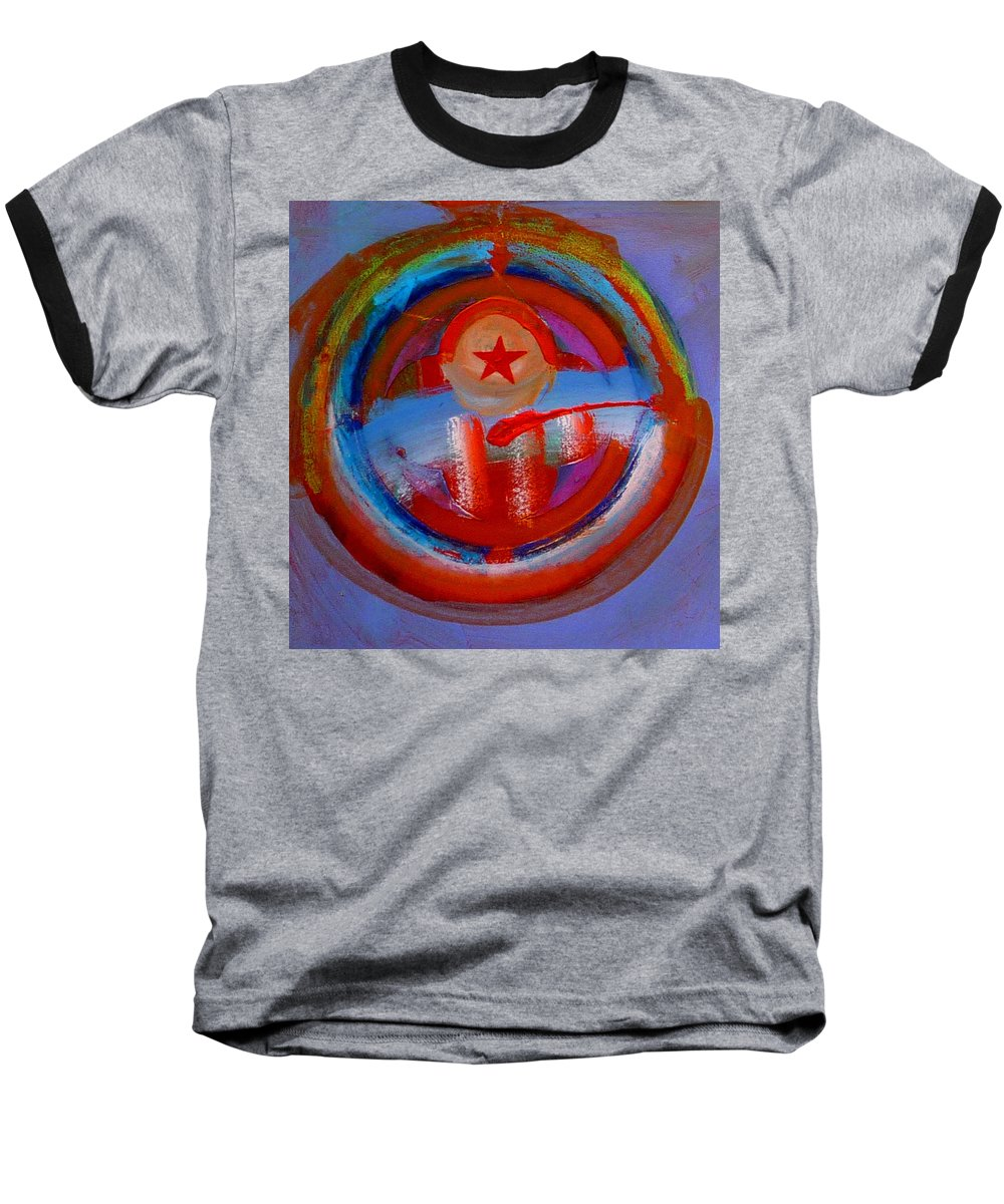 Love Baseball T-Shirt featuring the painting Star Of The Sea by Charles Stuart