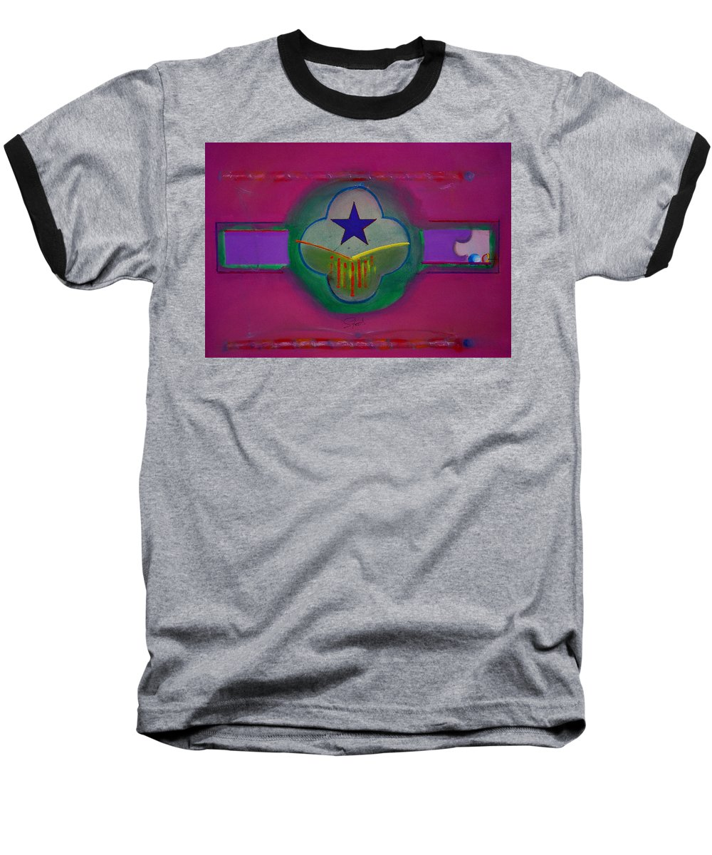 Star Baseball T-Shirt featuring the painting Star Of Venice by Charles Stuart