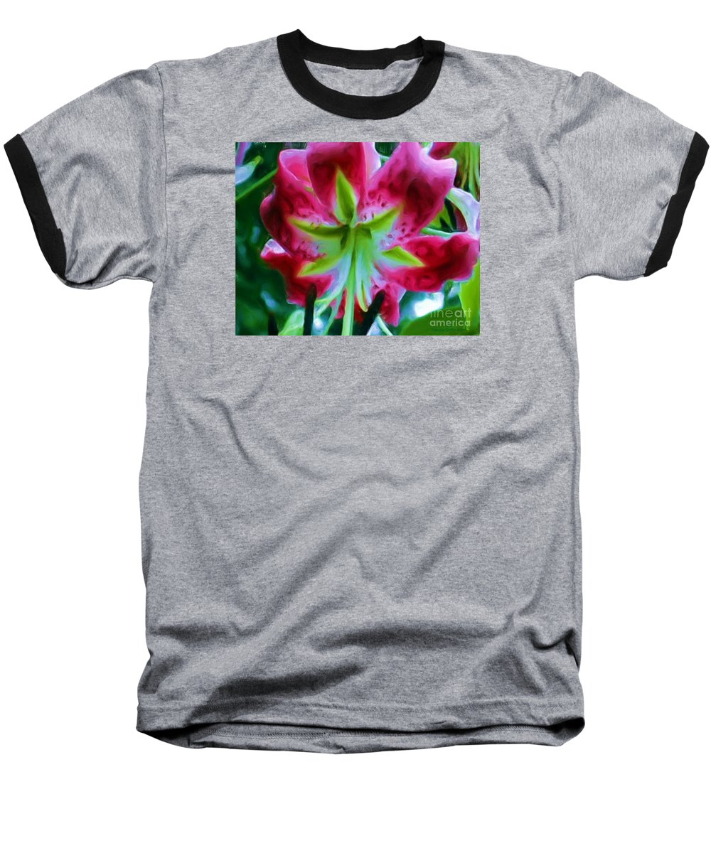 Fine Art Photography Baseball T-Shirt featuring the photograph Stargazer by Patricia Griffin Brett