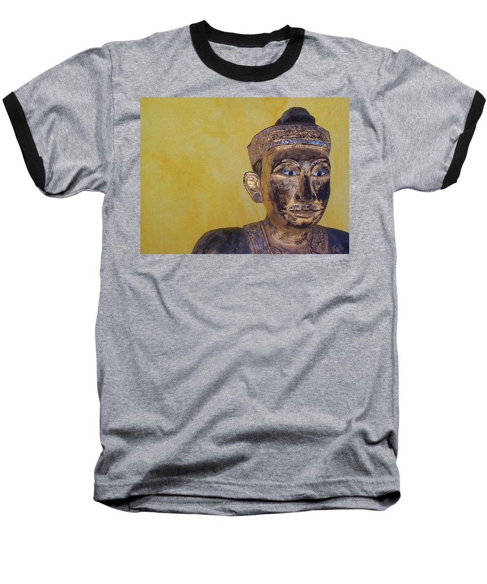 Charity Baseball T-Shirt featuring the photograph Statue by Mary-Lee Sanders