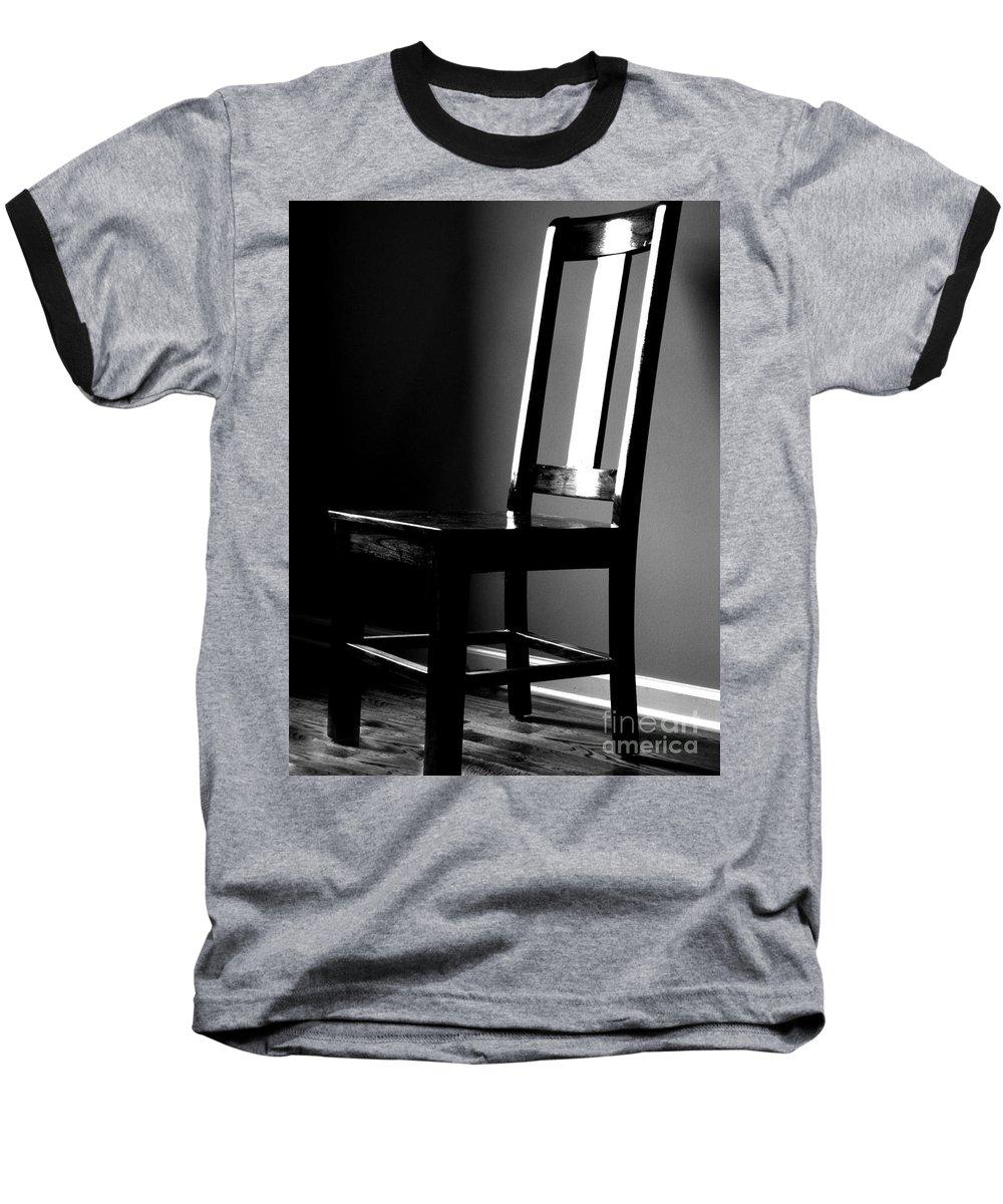 Stillness Baseball T-Shirt featuring the photograph Still by Amanda Barcon