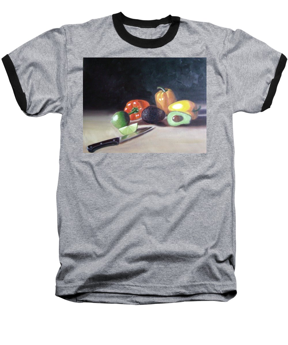 Baseball T-Shirt featuring the painting Still-life by Toni Berry
