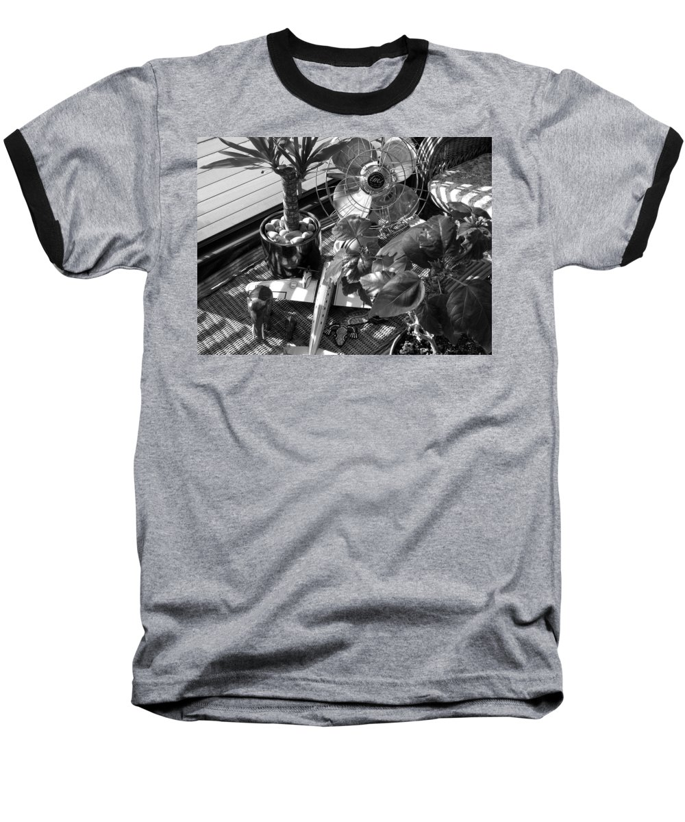 Still Life Baseball T-Shirt featuring the photograph Still Life With Salamander by Charles Stuart