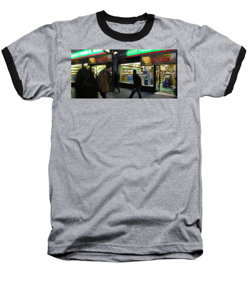 London Baseball T-Shirt featuring the photograph Stopping by Ze DaLuz
