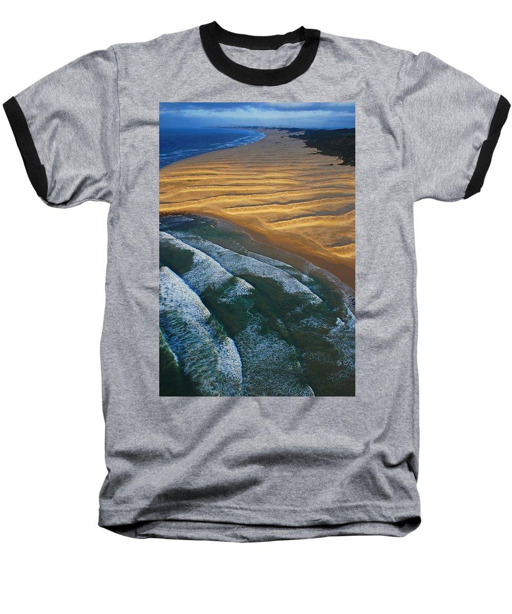 Coast Baseball T-Shirt featuring the photograph Sun Rise Coast by Skip Hunt