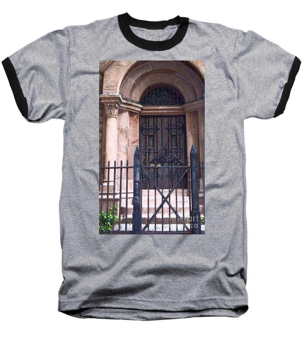 Church Baseball T-Shirt featuring the photograph Sunday by Debbi Granruth