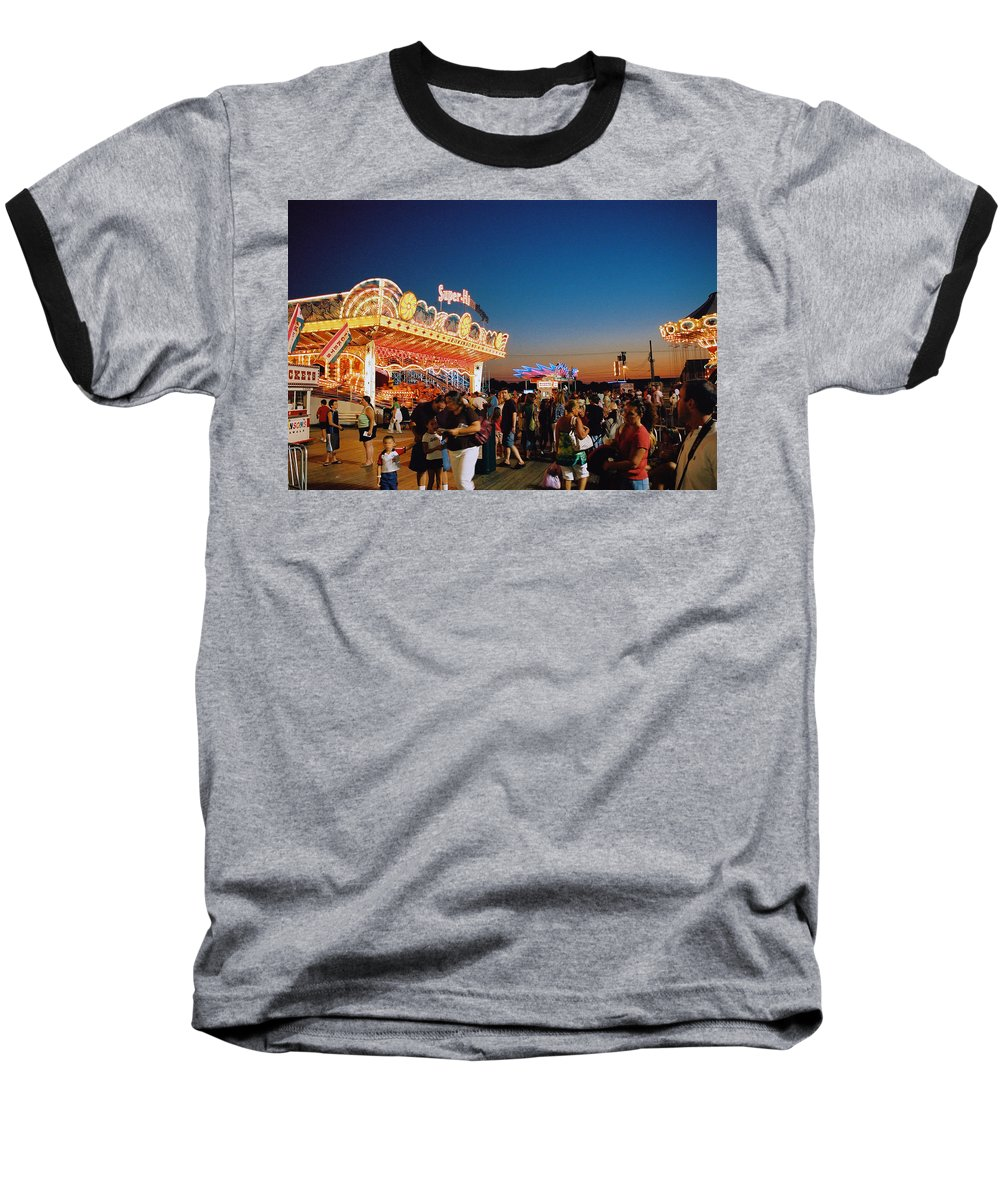 Board Walk Baseball T-Shirt featuring the photograph Super Himalaya by Steve Karol