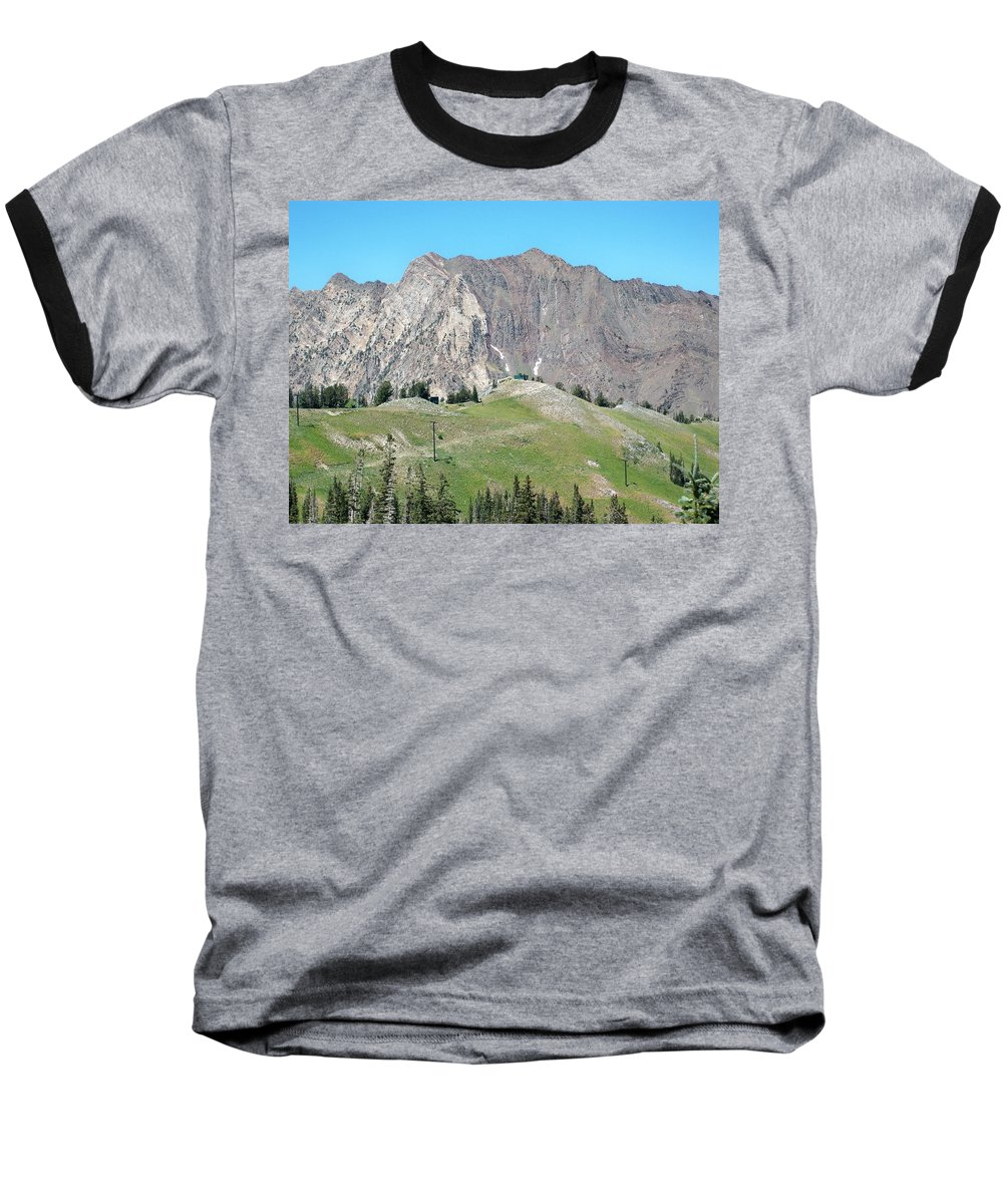 Landscape Baseball T-Shirt featuring the photograph Superior by Michael Cuozzo