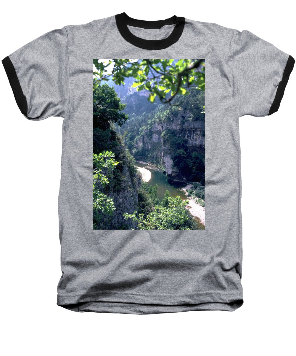 France Baseball T-Shirt featuring the photograph Tarn by Flavia Westerwelle