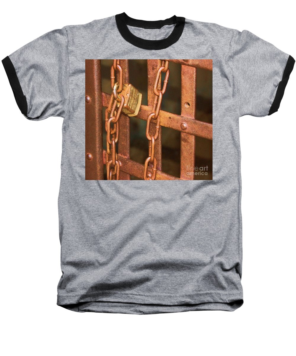 Metal Baseball T-Shirt featuring the photograph Tarnished Image by Debbi Granruth