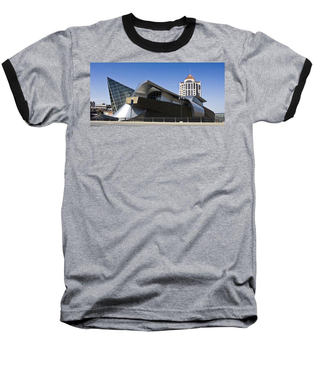 Roanoke Baseball T-Shirt featuring the photograph Taubman And Tower Roanoke Virginia by Teresa Mucha