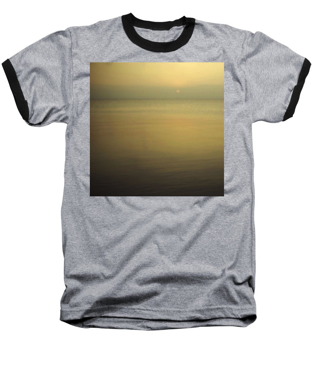 Blur Baseball T-Shirt featuring the photograph Tell Me If You Know All This by Dana DiPasquale