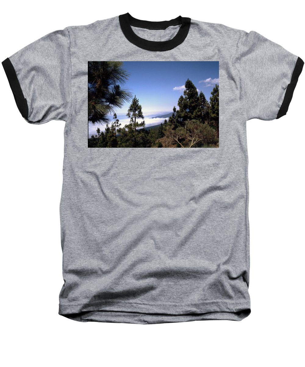 Tenerife Baseball T-Shirt featuring the photograph Tenerife by Flavia Westerwelle