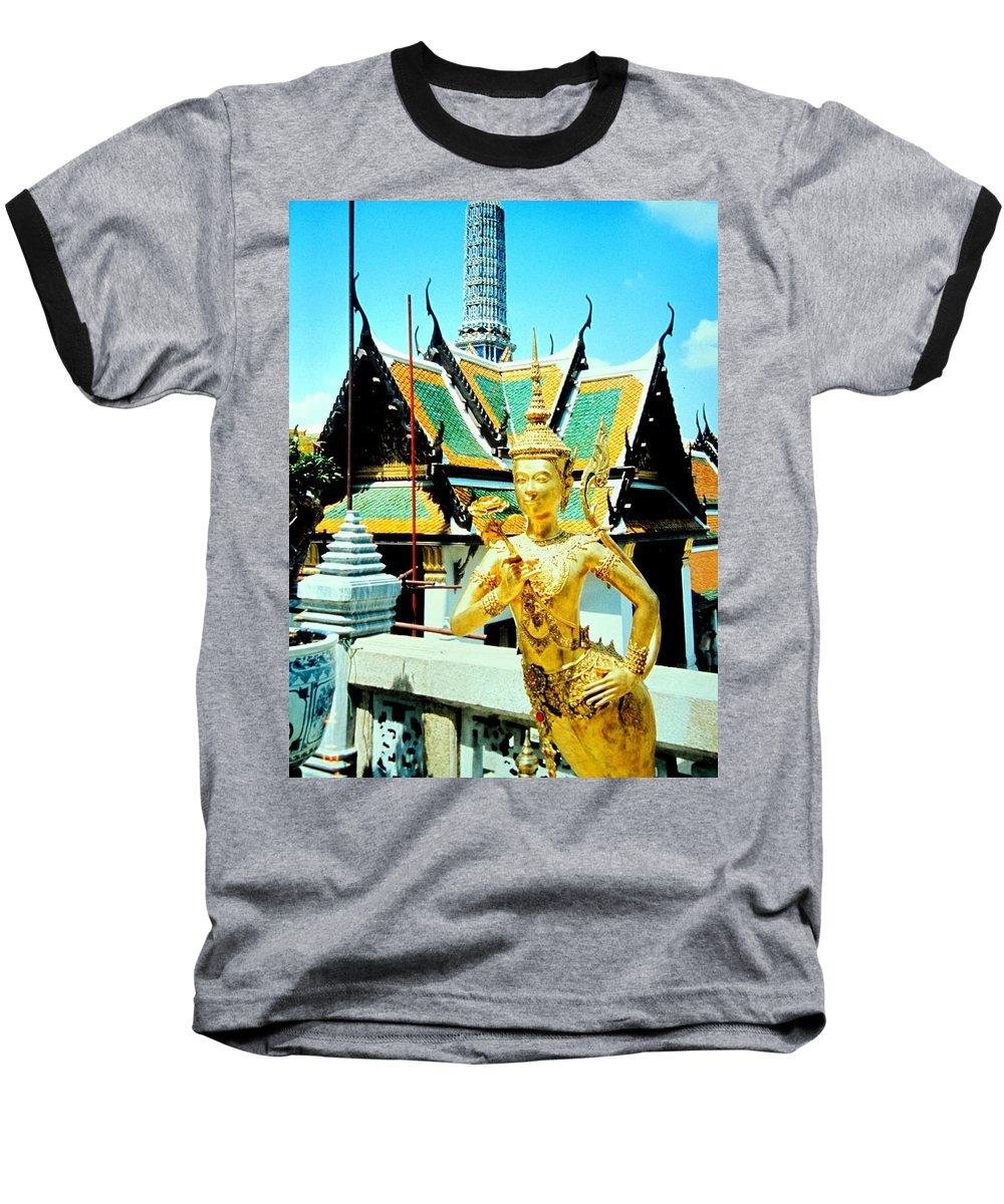 Bangcock Baseball T-Shirt featuring the photograph Thailand by Ian MacDonald