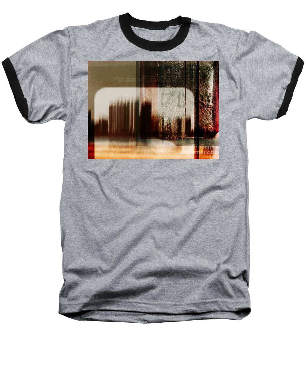 Dipasquale Baseball T-Shirt featuring the photograph That Day In The City When We Lost Track Of Time by Dana DiPasquale