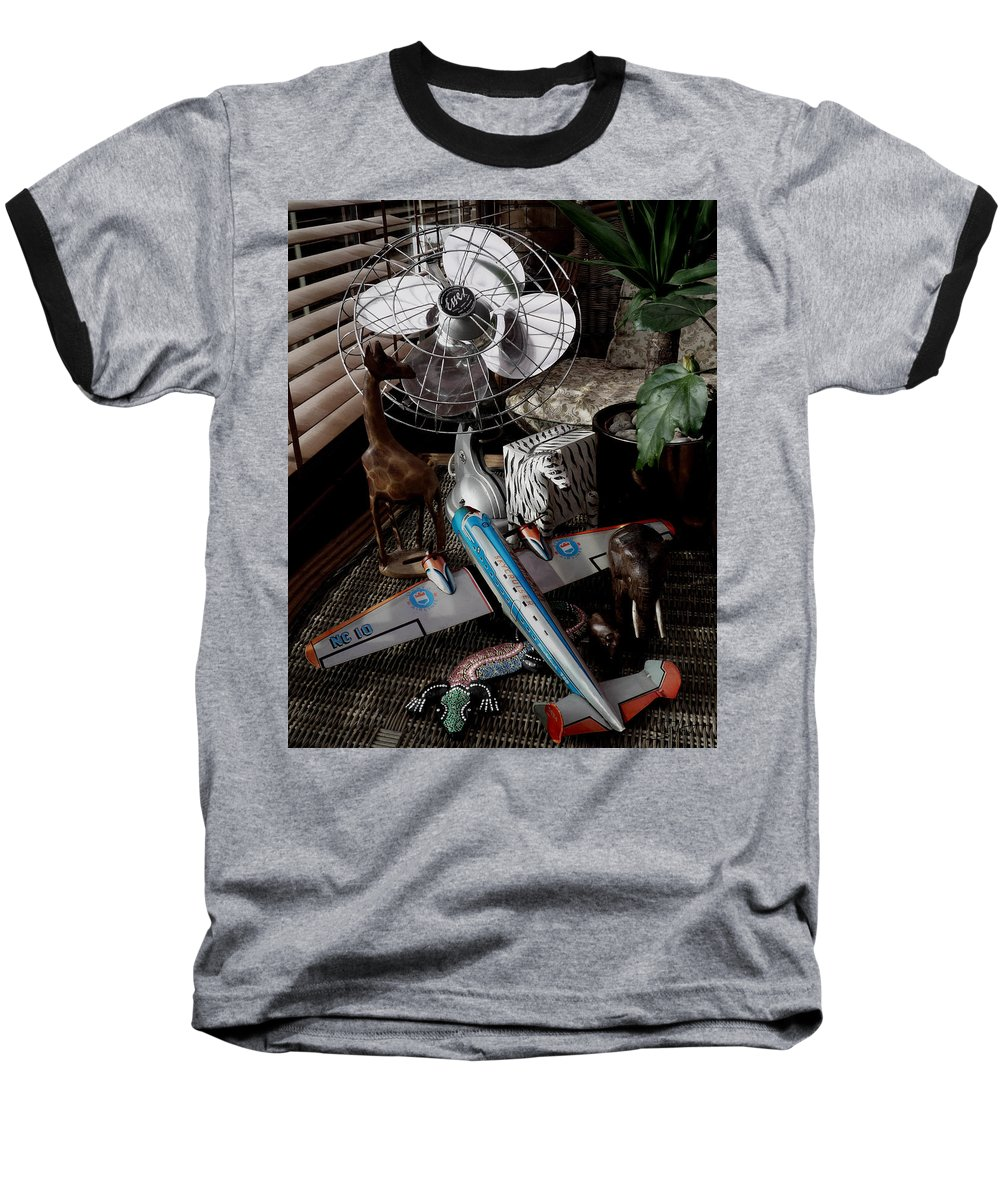 Still Life Baseball T-Shirt featuring the photograph The African Fantasy by Charles Stuart