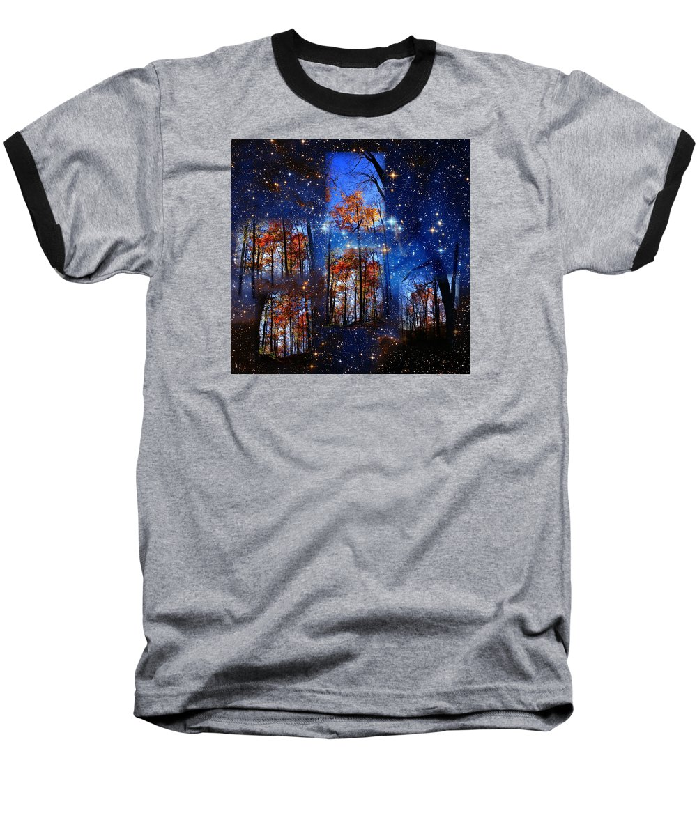 Deep Space Baseball T-Shirt featuring the photograph The Face Of Forever by Dave Martsolf