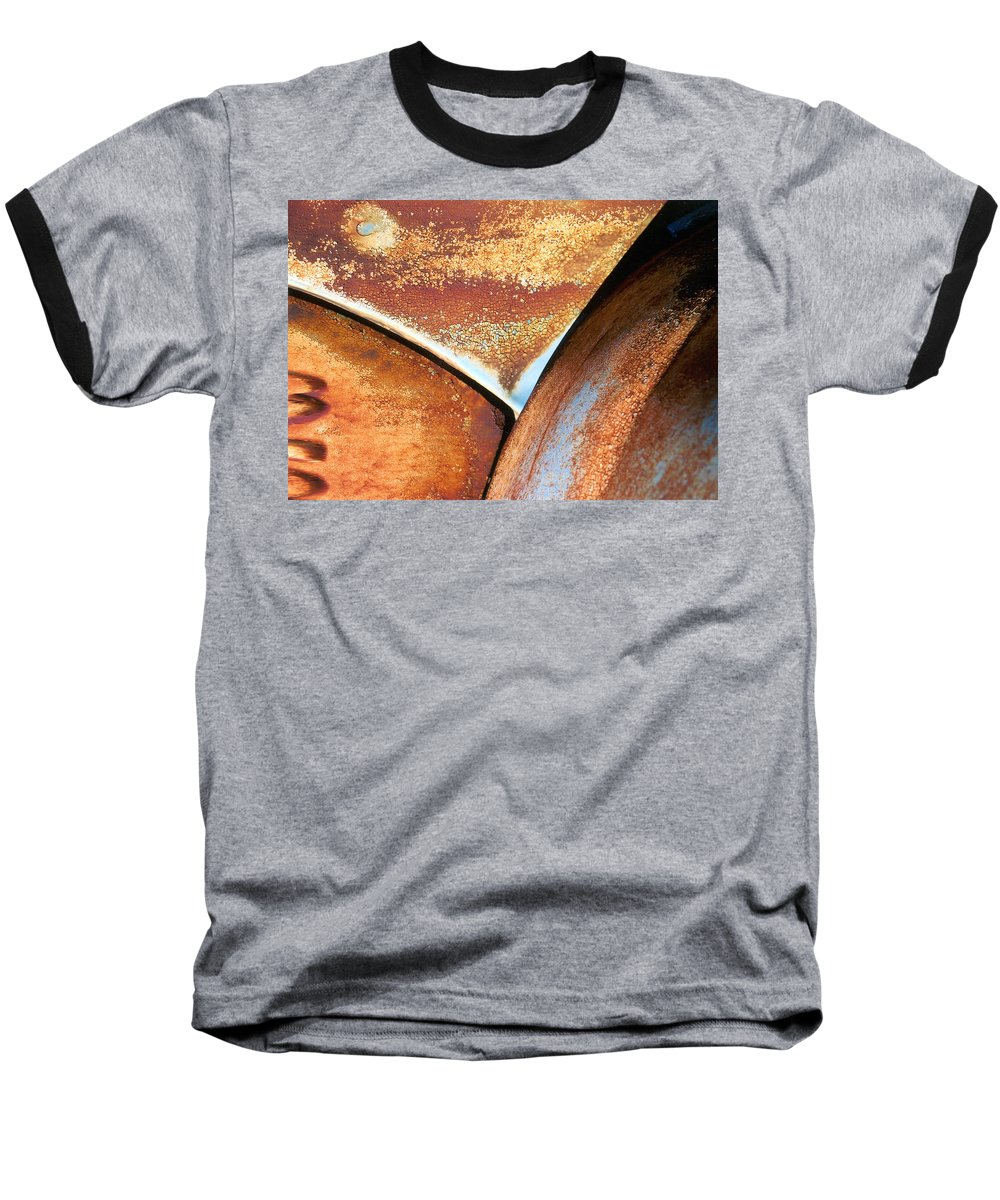 Abstract Baseball T-Shirt featuring the photograph The Feminine Mystique by Steve Karol
