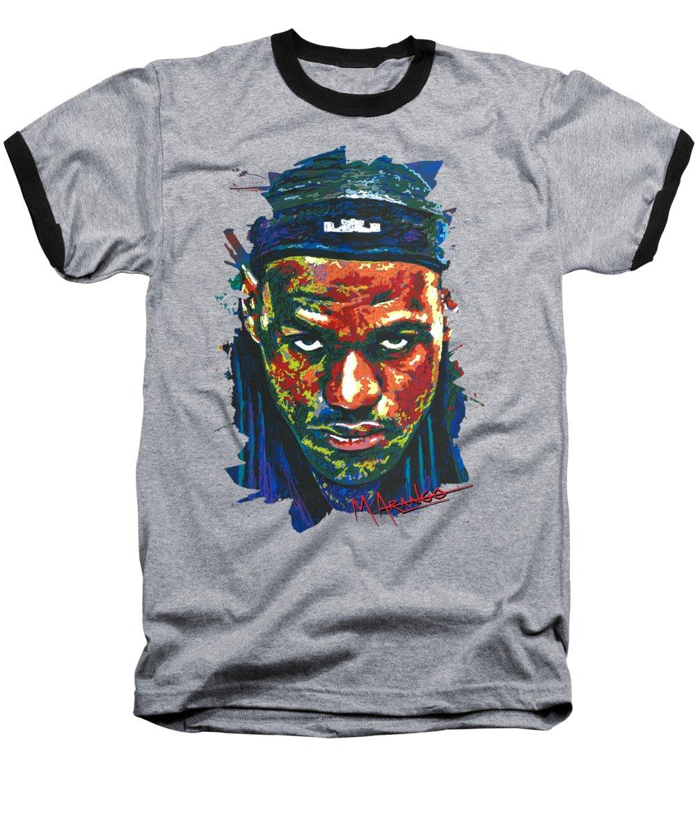 Lebron James Baseball T-Shirts