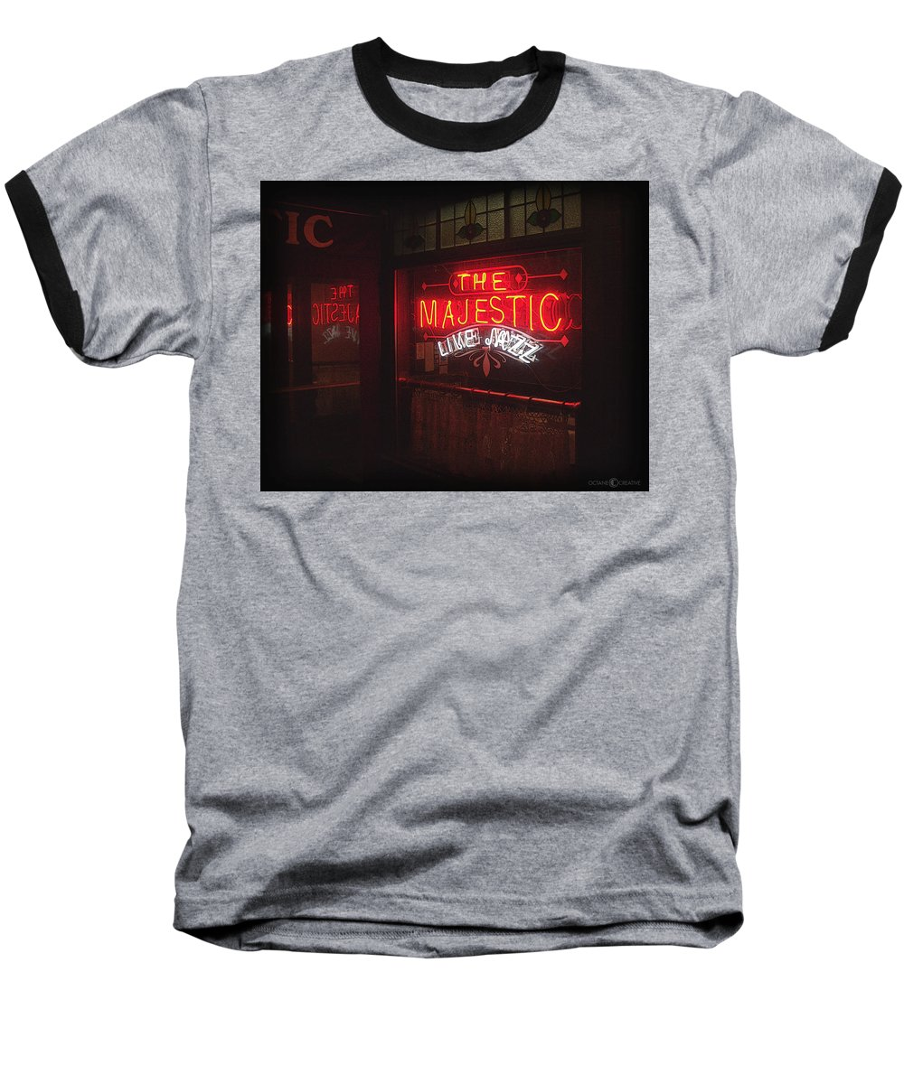 Majestic Baseball T-Shirt featuring the photograph The Majestic by Tim Nyberg
