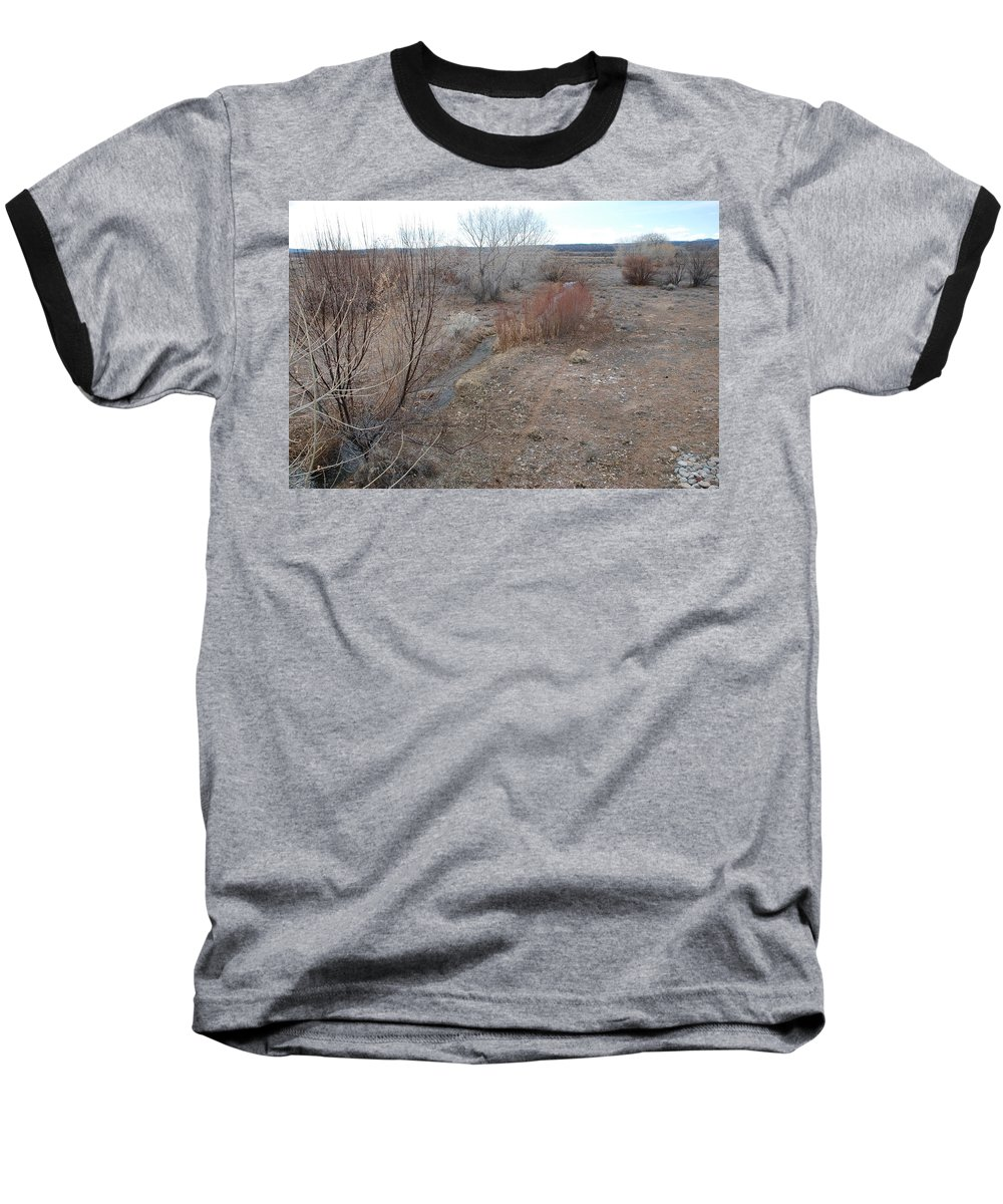 River Baseball T-Shirt featuring the photograph The Mighty Santa Fe River by Rob Hans