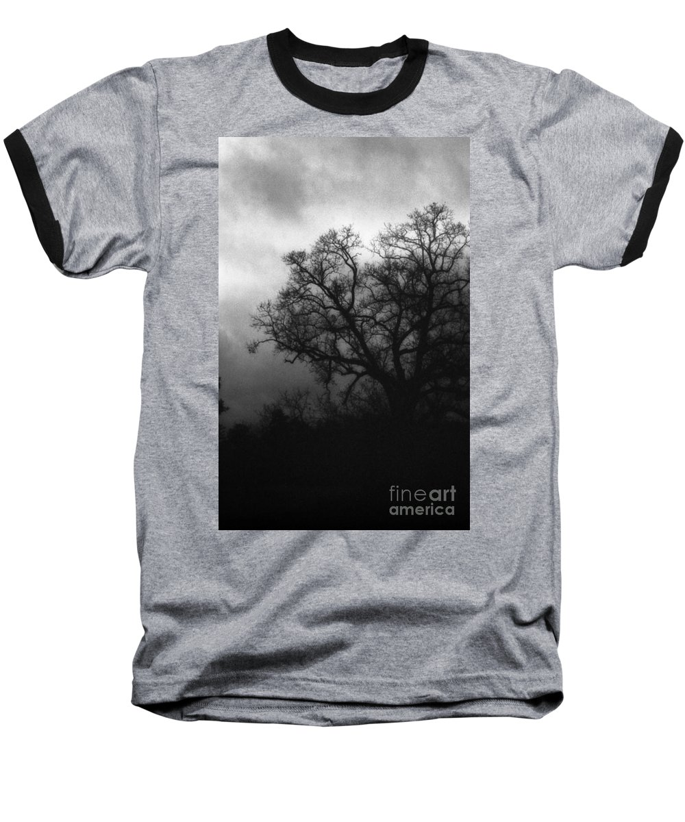 Eerie Baseball T-Shirt featuring the photograph The Other Side by Richard Rizzo