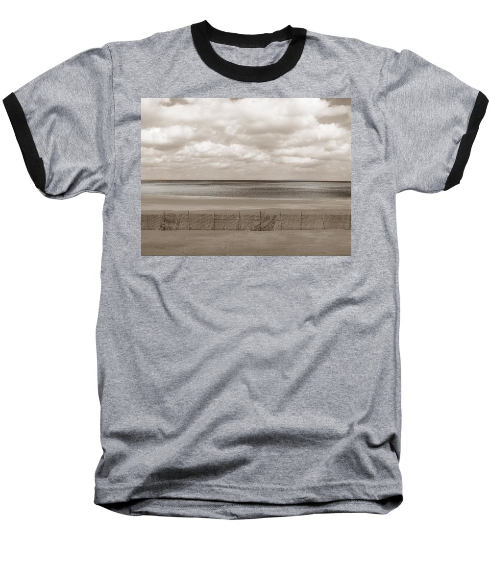 Ocean Baseball T-Shirt featuring the photograph The Perfect Sky Is Torn by Dana DiPasquale