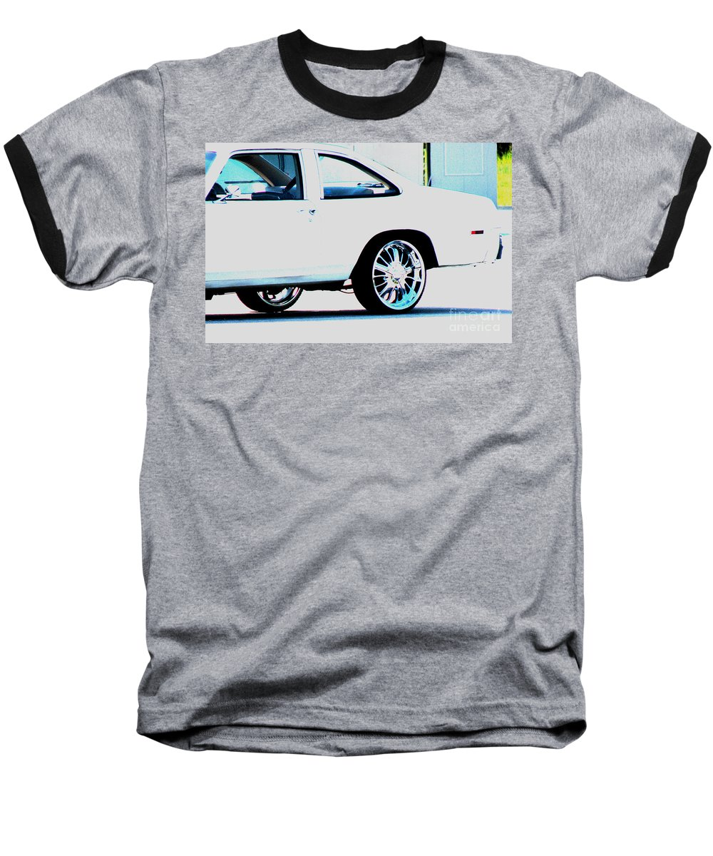 Car Baseball T-Shirt featuring the photograph The Ride by Amanda Barcon