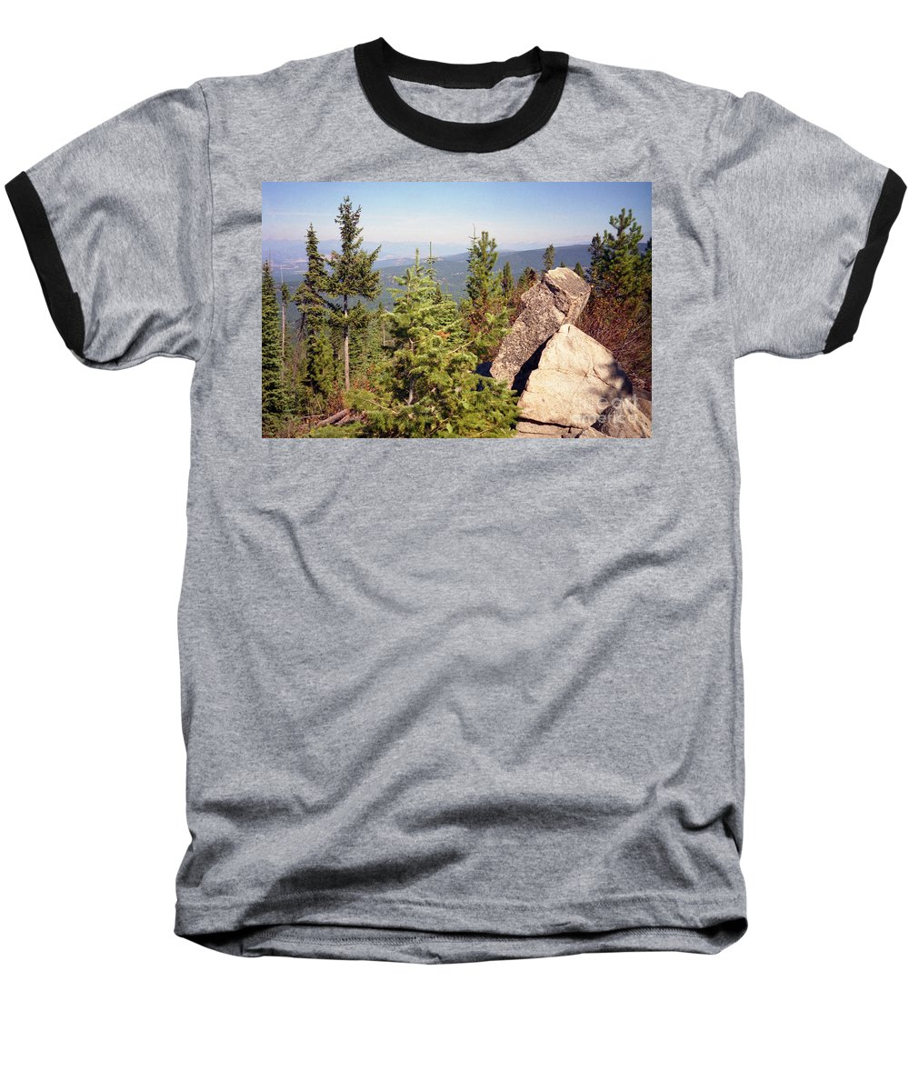 Landscapes Baseball T-Shirt featuring the photograph The Star Gazer by Richard Rizzo