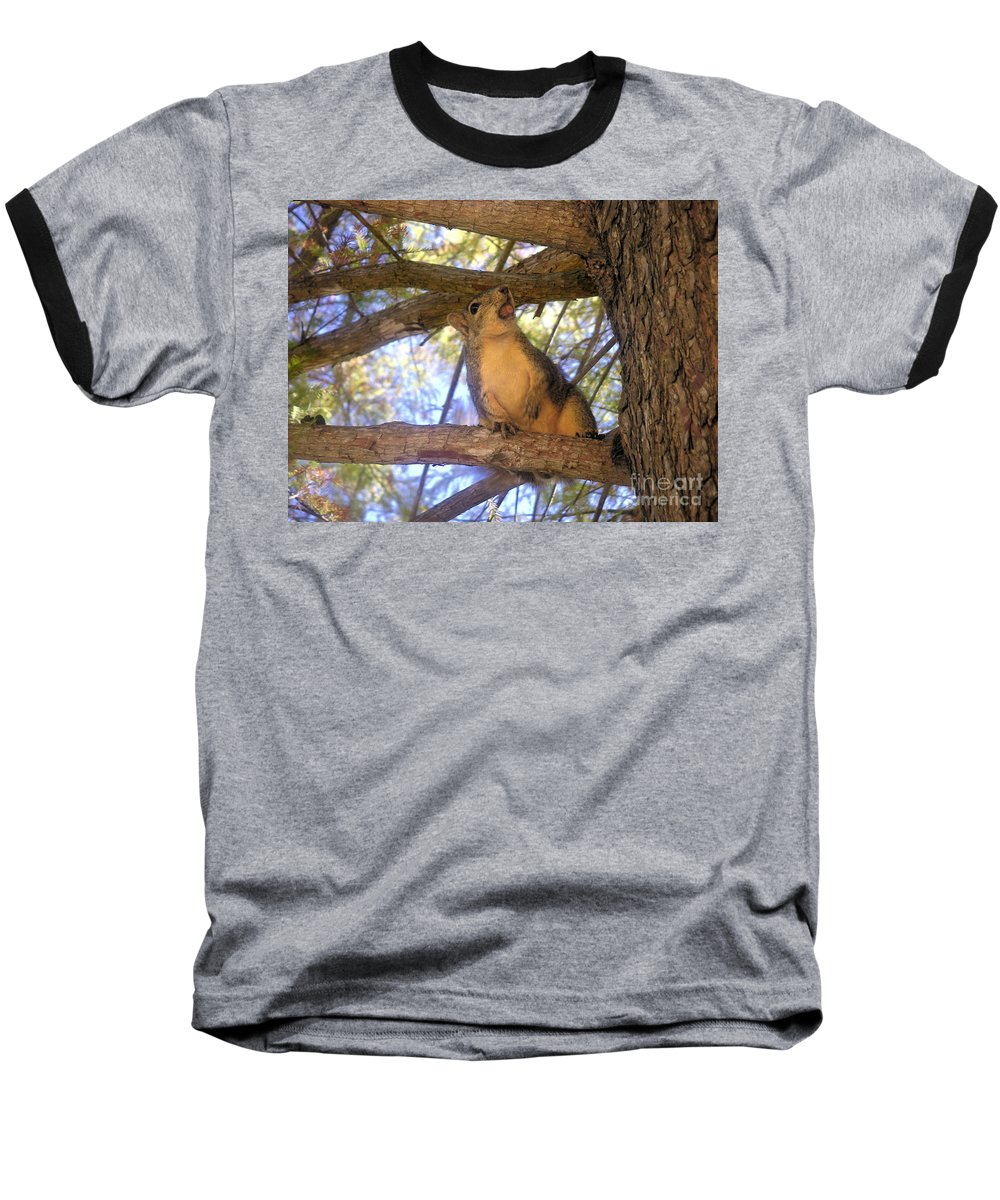 Nature Baseball T-Shirt featuring the photograph The Winner by Lucyna A M Green