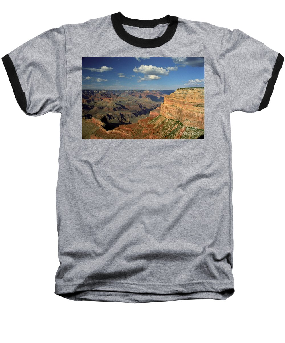 Grand Canyon Baseball T-Shirt featuring the photograph This Is My Father's World by Kathy McClure