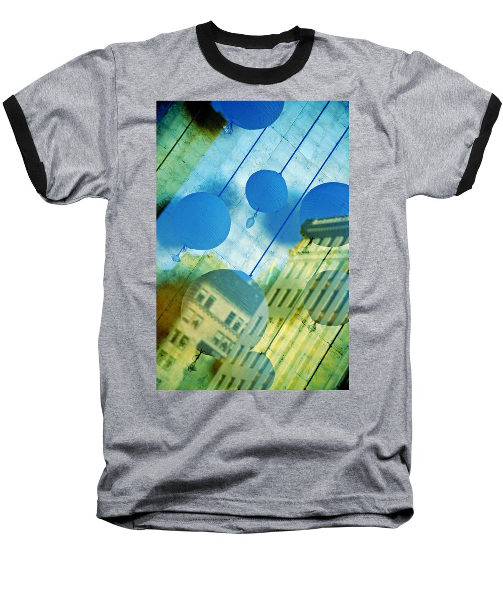 New York Baseball T-Shirt featuring the photograph Tiffanys by Skip Hunt