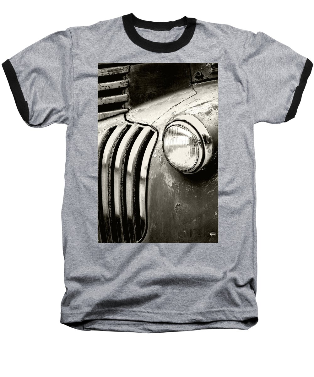 Cars Baseball T-Shirt featuring the photograph Time Traveler by Holly Kempe