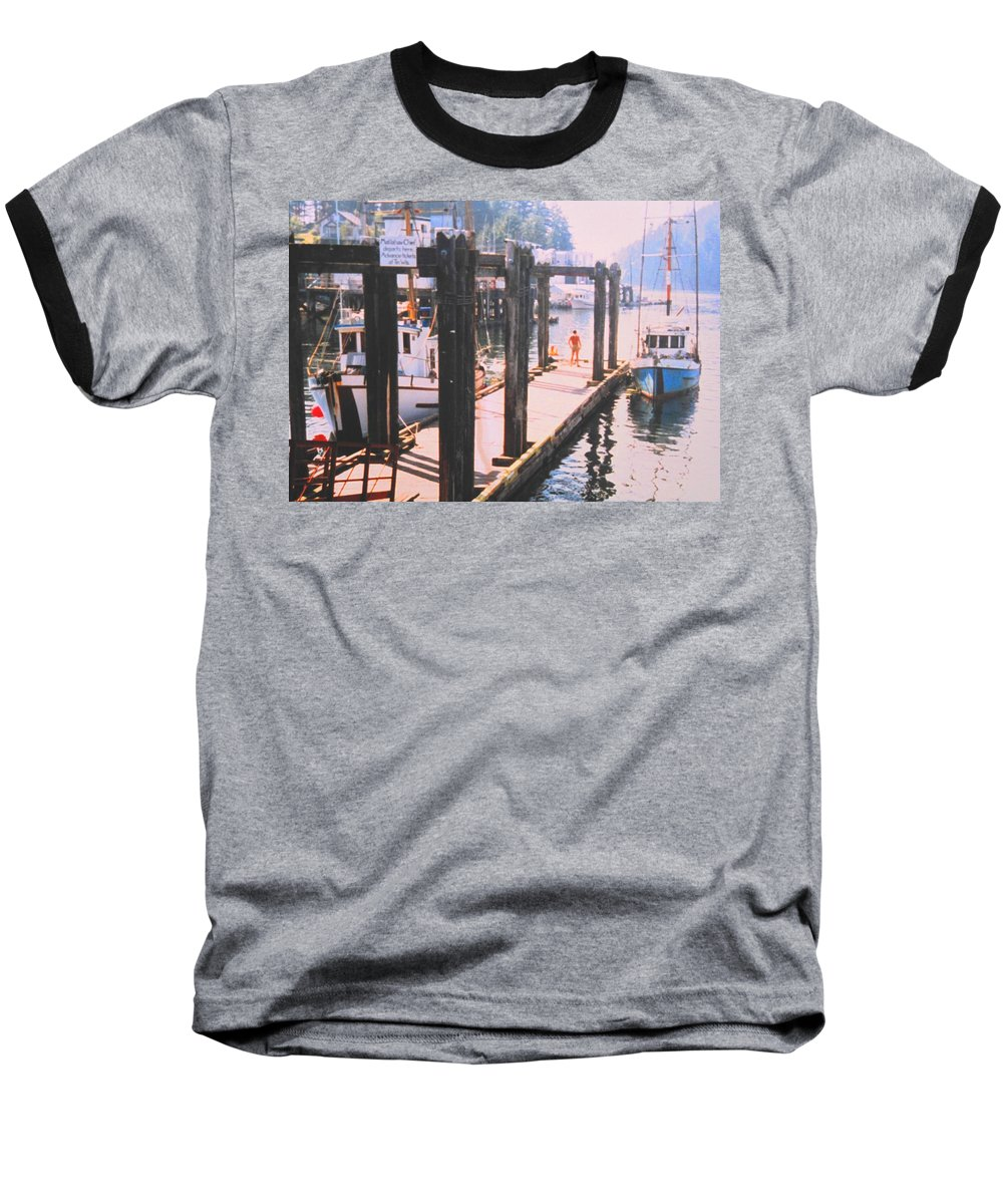 Tofino Baseball T-Shirt featuring the photograph Tofino by Ian MacDonald