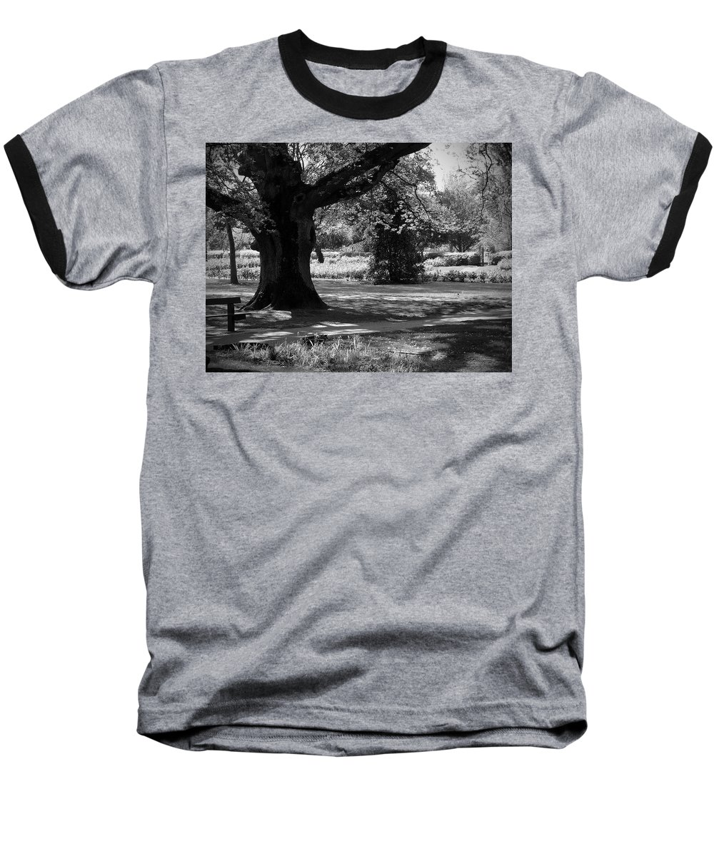 Irish Baseball T-Shirt featuring the photograph Tralee Town Park Ireland by Teresa Mucha