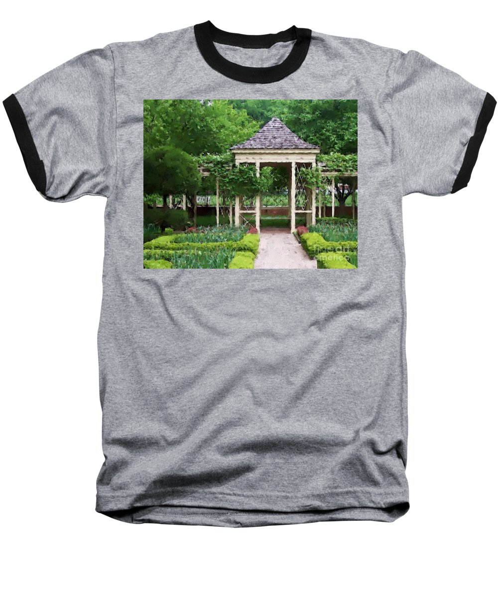 Garden Baseball T-Shirt featuring the photograph Tranquil by Debbi Granruth