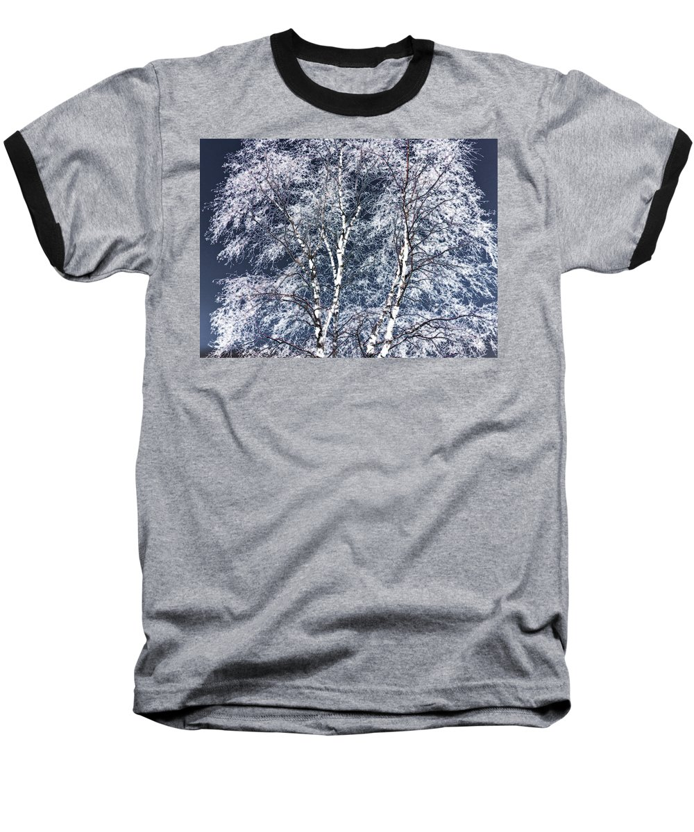 Tree Baseball T-Shirt featuring the digital art Tree Fantasy 14 by Lee Santa