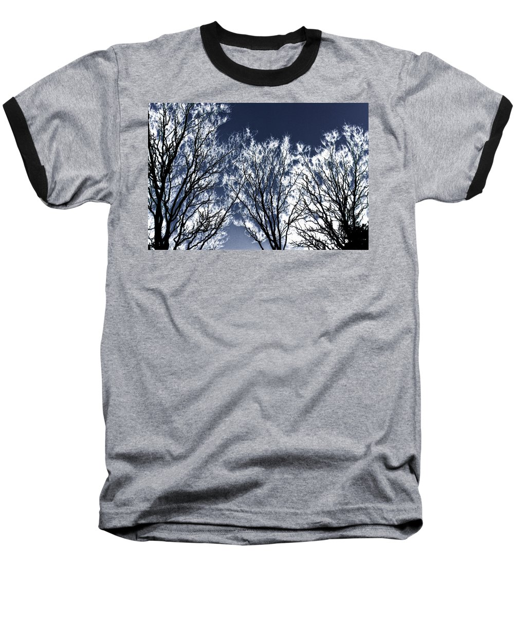 Scenic Baseball T-Shirt featuring the photograph Tree Fantasy 2 by Lee Santa
