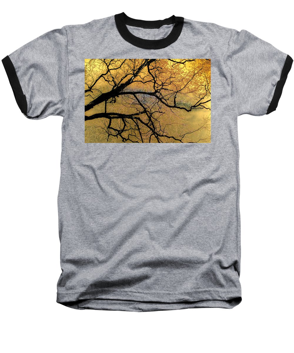 Scenic Baseball T-Shirt featuring the photograph Tree Fantasy 7 by Lee Santa