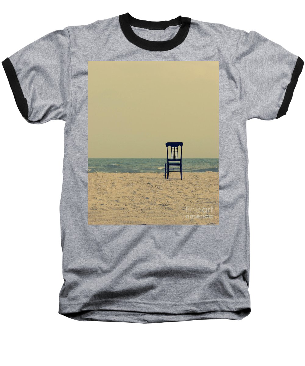 Ocean Baseball T-Shirt featuring the photograph Until Tomorrow And Tomorrow And Tomorrow by Dana DiPasquale