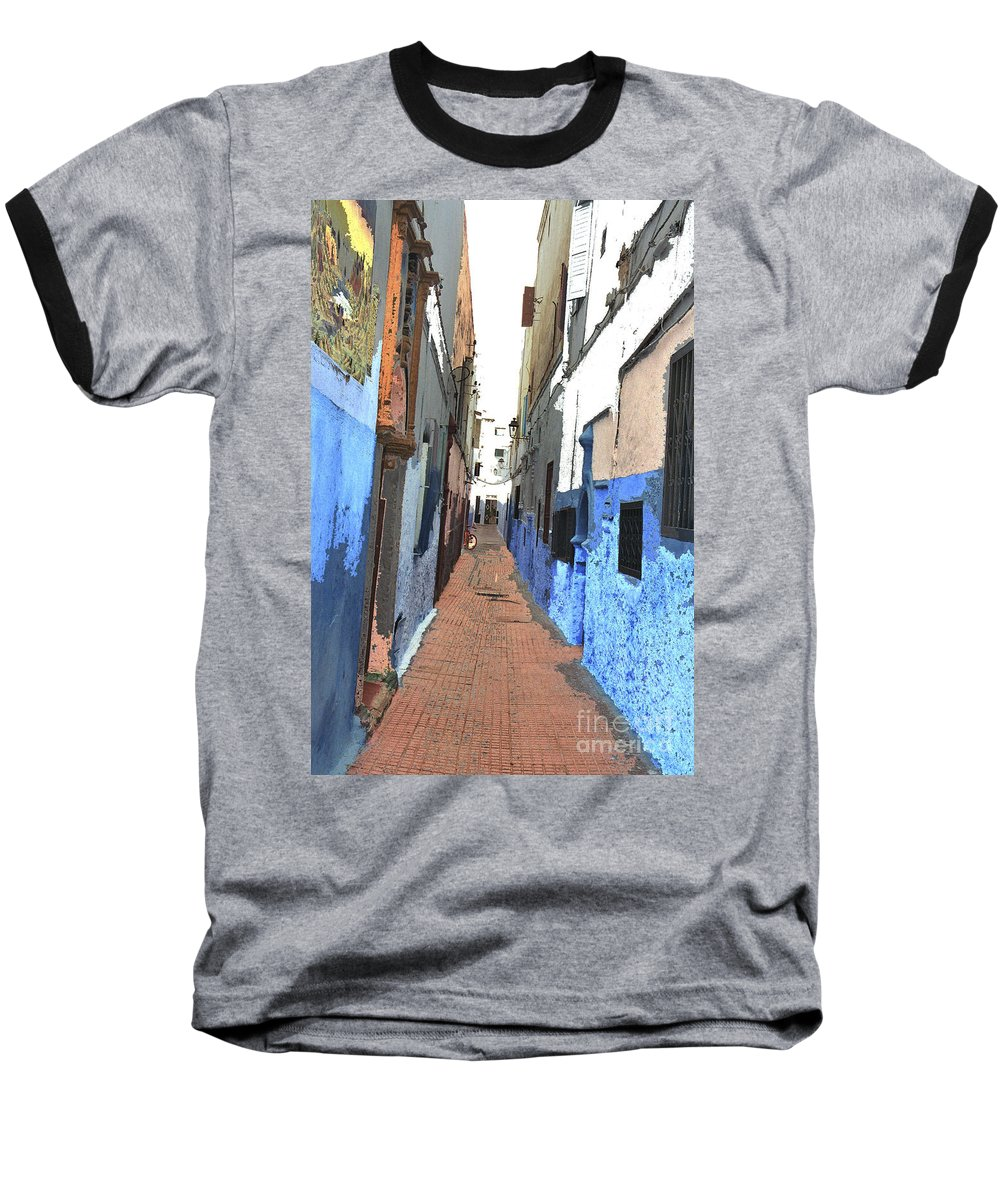 Urban Baseball T-Shirt featuring the photograph Urban Scene by Hana Shalom