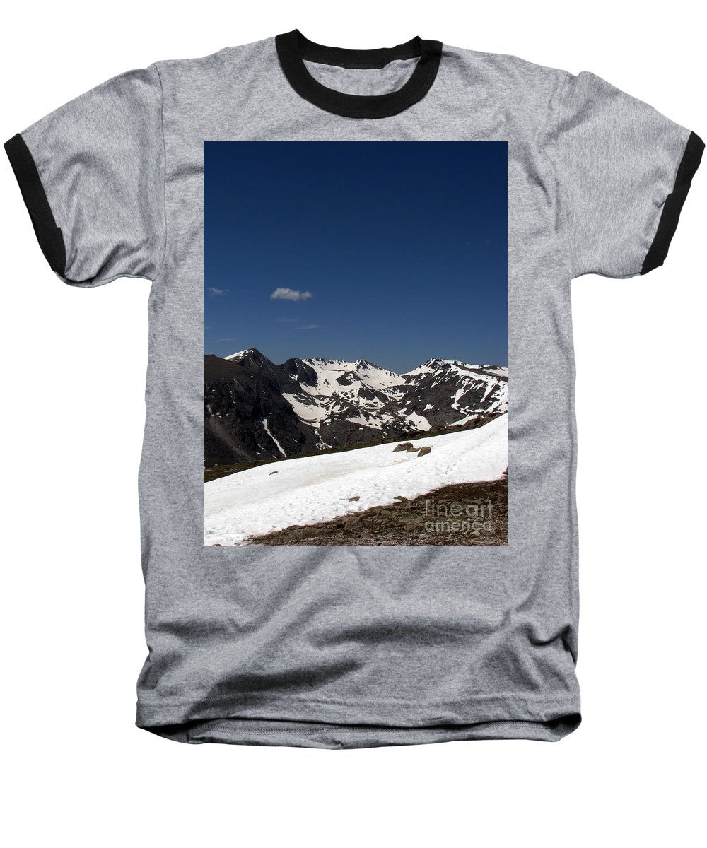 Colorado Baseball T-Shirt featuring the photograph Vast Mother by Amanda Barcon