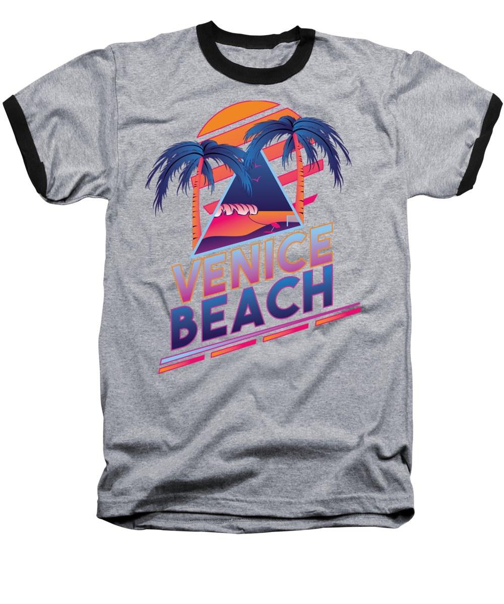 Venice Beach Baseball T-Shirts